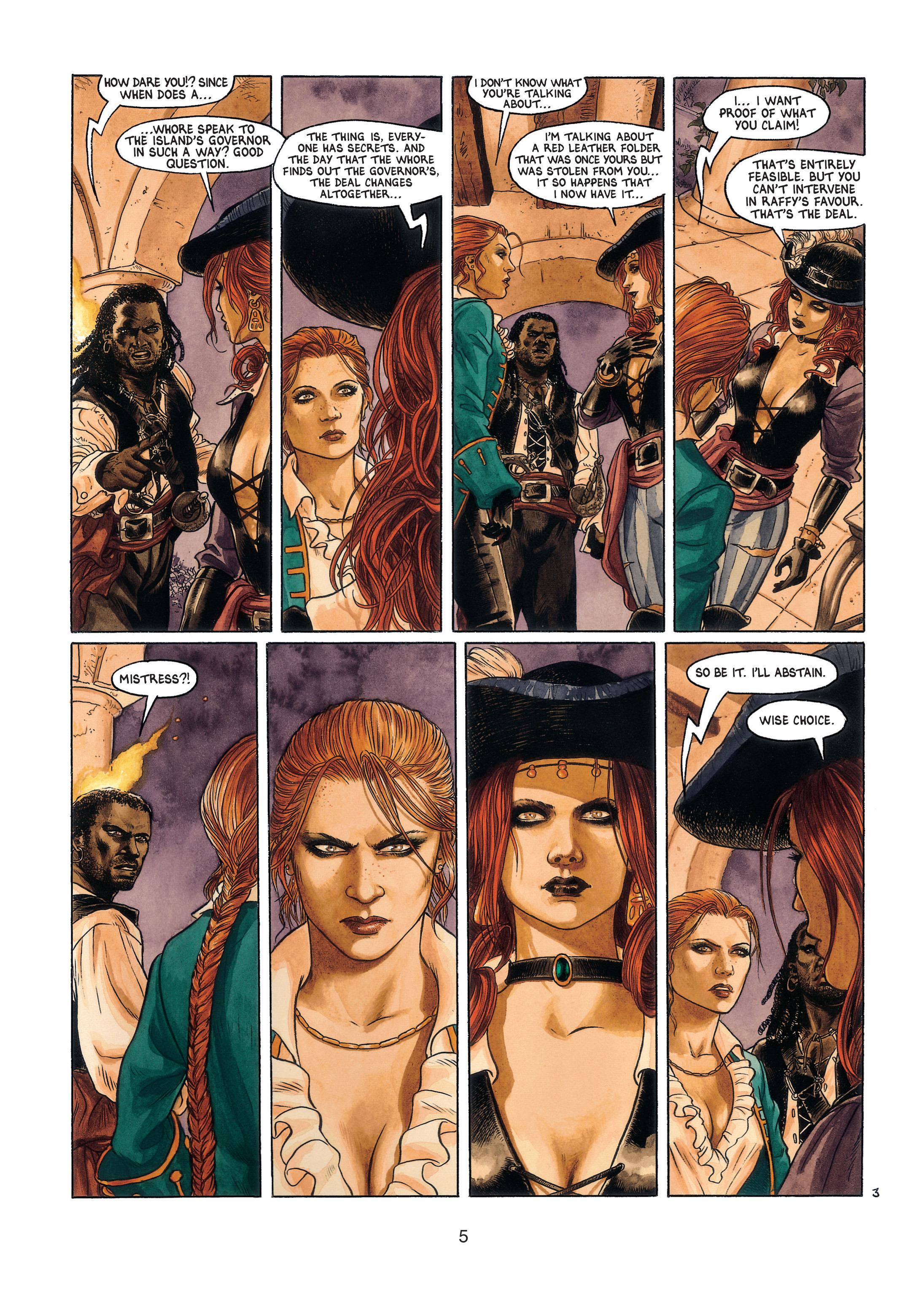 Read online Barracuda comic -  Issue #4 - 6