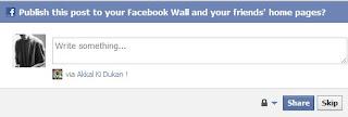 Facebook Status update Via Different Devices