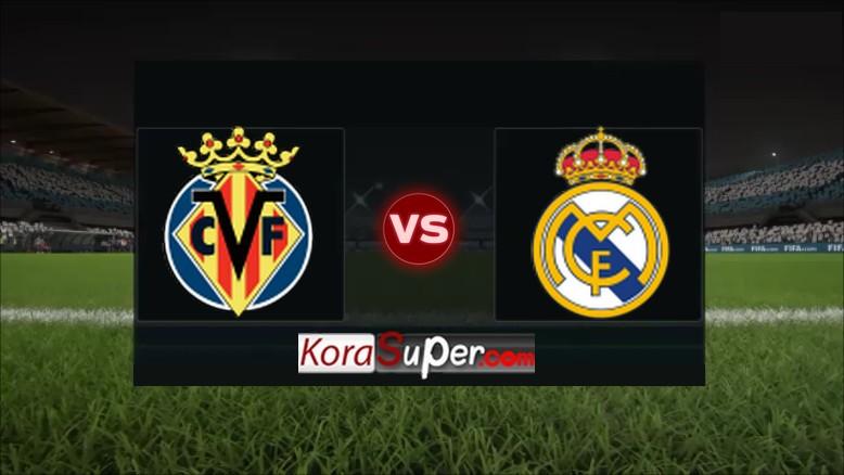 مشاهدة ريال مدريد وفياريال 01/09/2019