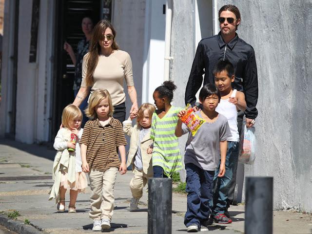 Angelina Jolie le pide el divorcio a su esposo Brad Pitt