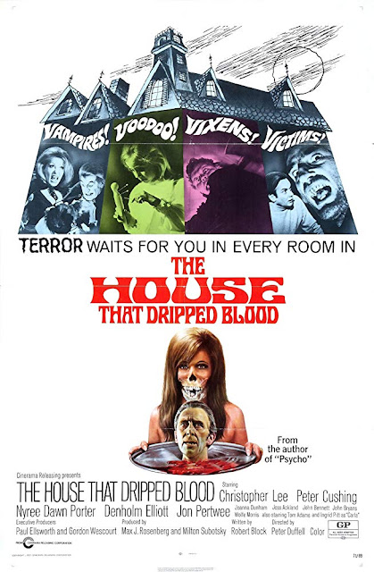 The House that Dripped Blood 1971 movie poster