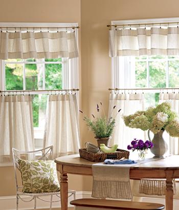 home unique and classic luxury kitchen curtains design ideas 2012