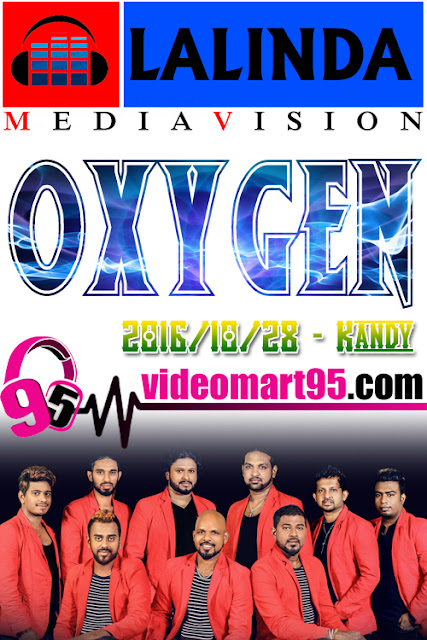 OXYGEN LIVE  IN KANDY 2016-10-28
