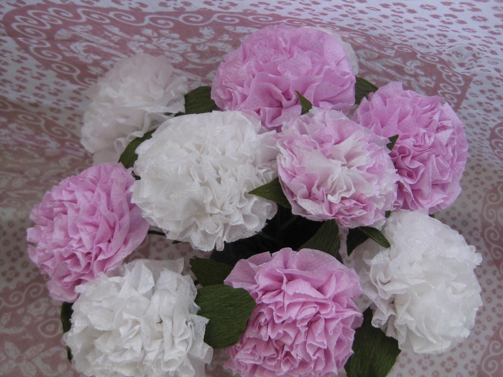 Himaja S Crafts Tisssue Paper Paper Flower2