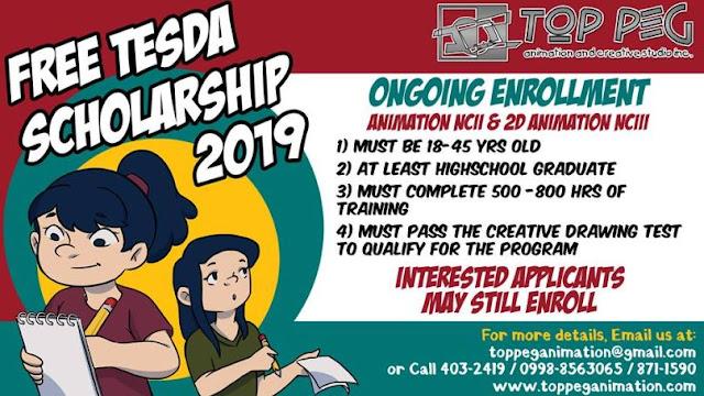 Animation NC II and 2D Animation NC II (FREE TESDA Scholarship) | Enroll Now!