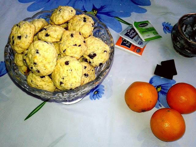 пісочне печиво шоколадне з цедрою