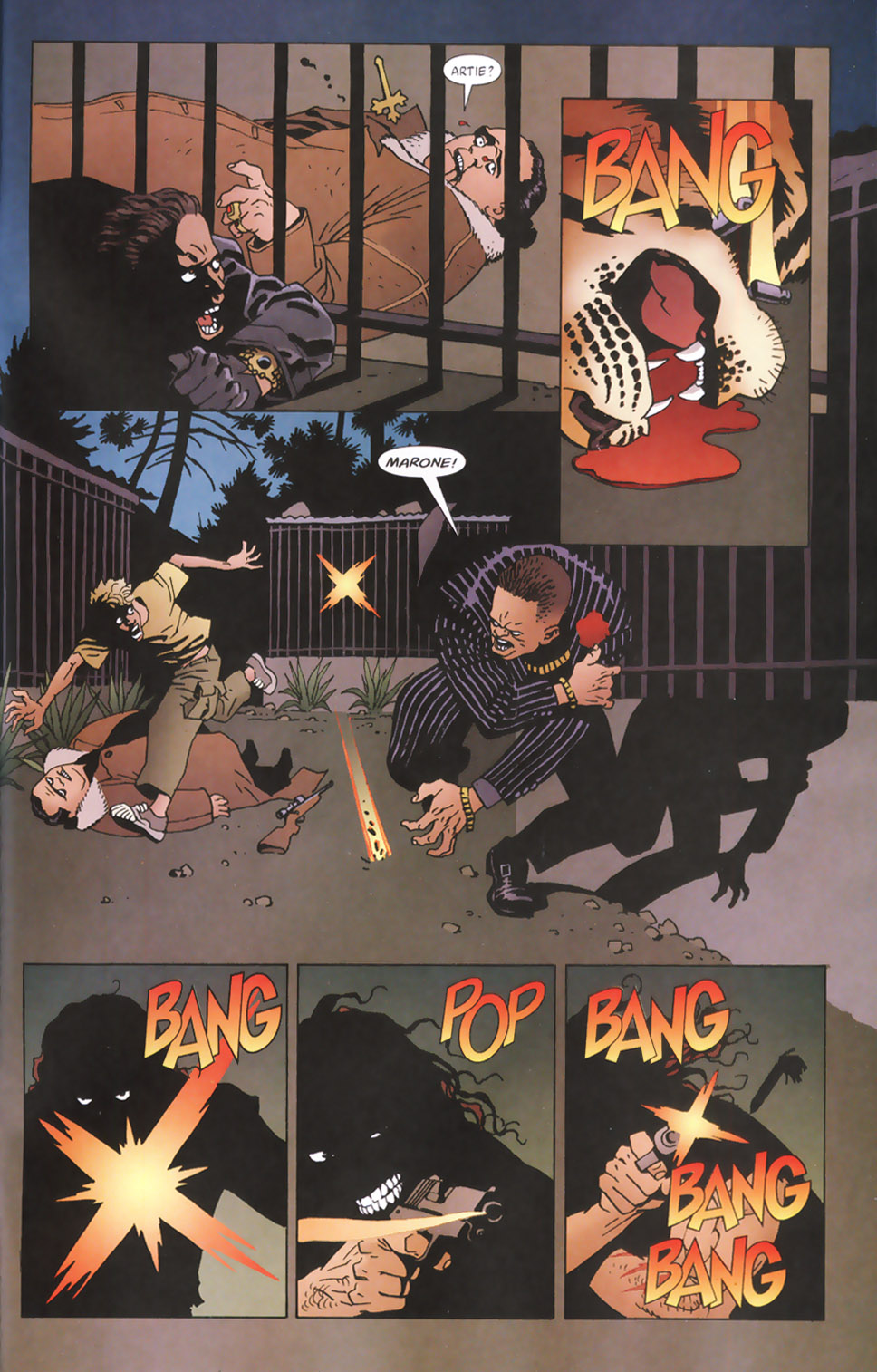 Read online 100 Bullets comic -  Issue #48 - 22