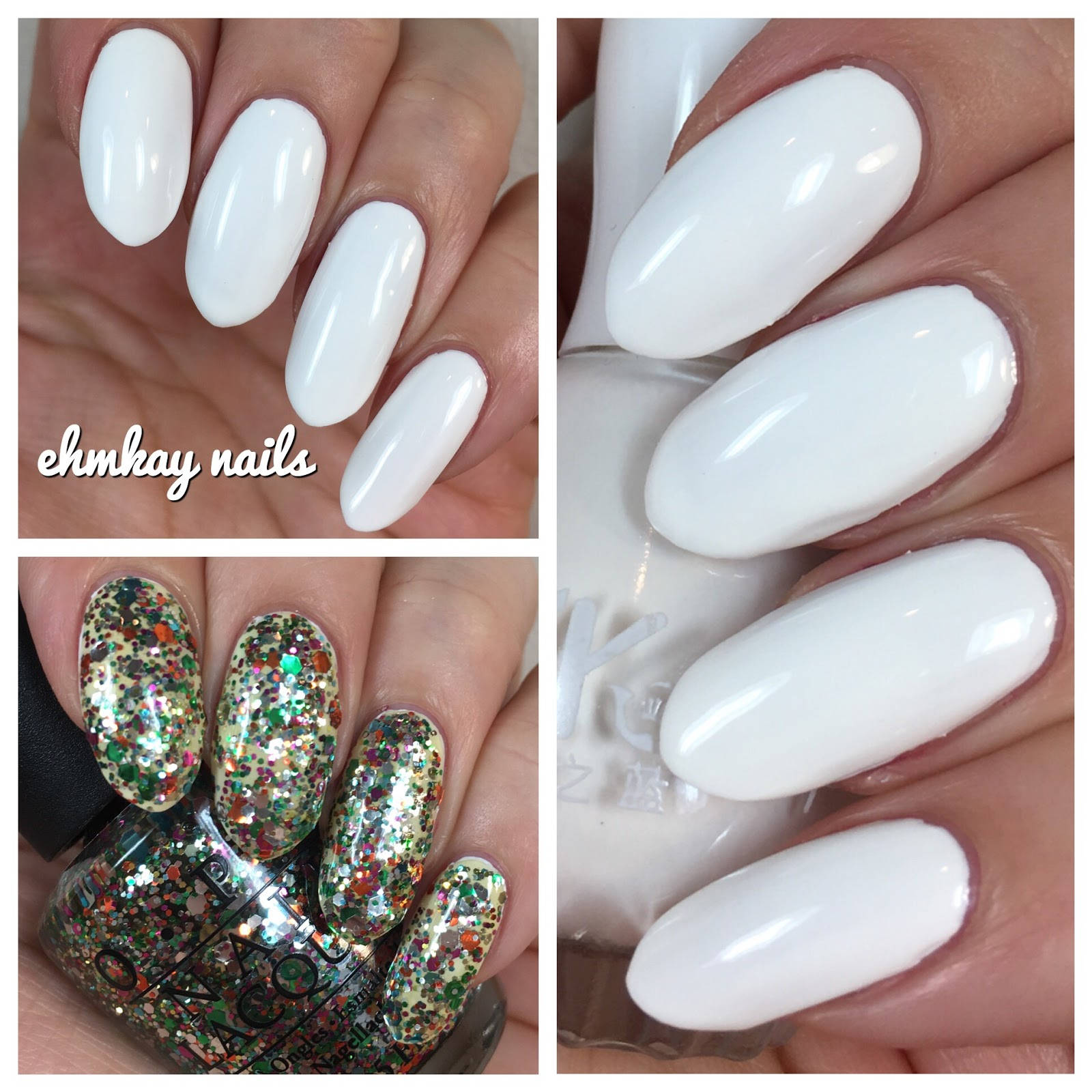 ehmkay nails: Born Pretty Peel Off White Nail Polish Review