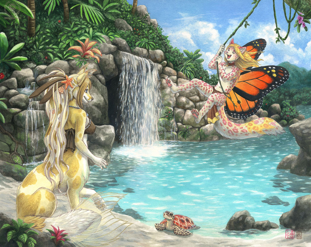 Tropical Lagoon Wallpapers