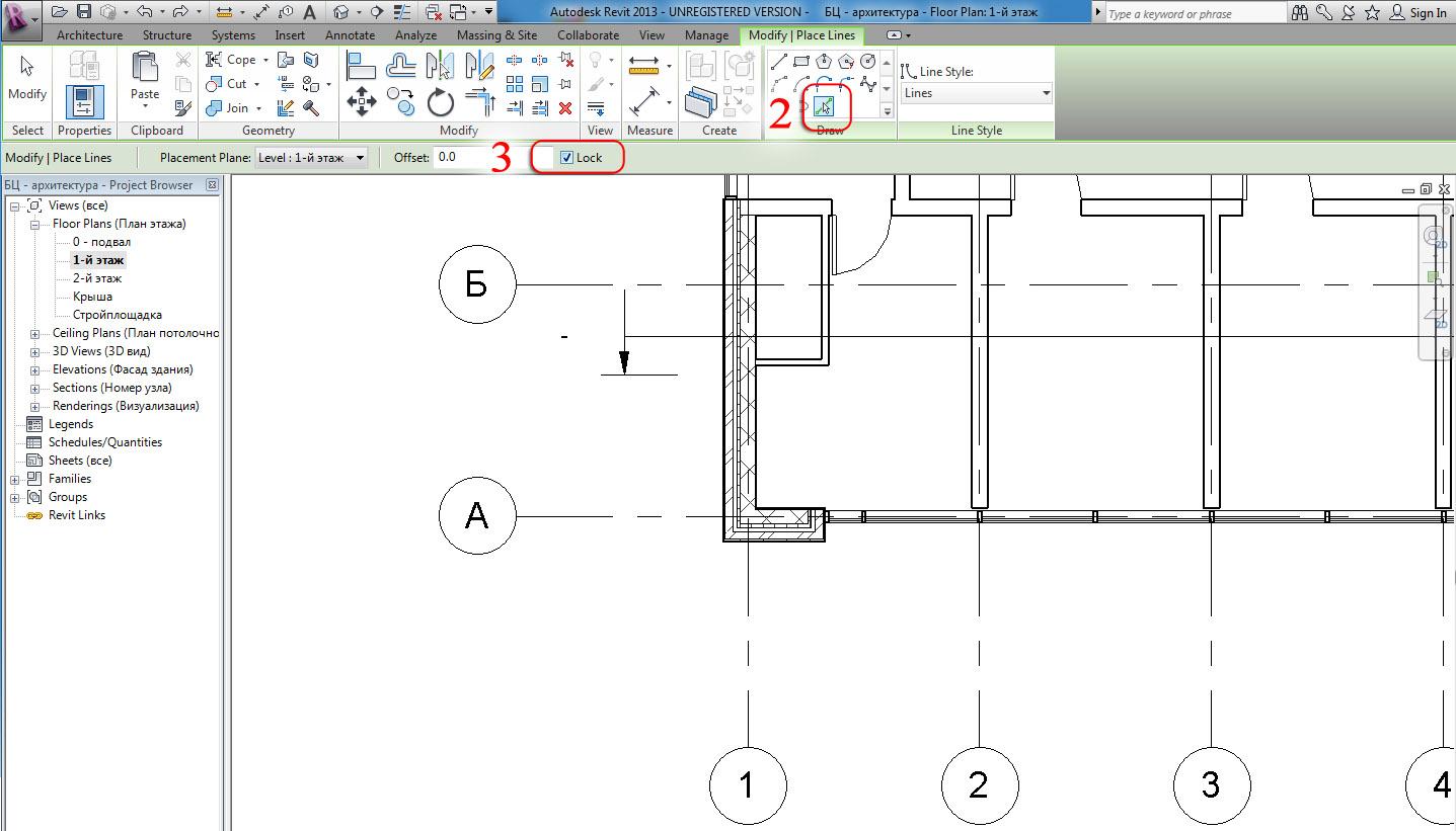 Revit and its friends: Autodesk Revit: Grids on a 3D view