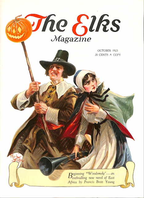 Cover by Paul Stahr for the Elks magazine 1923 October