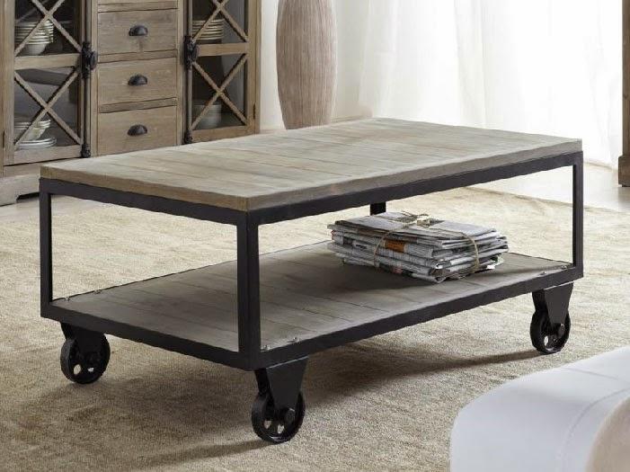 mesa con ruedas para salon