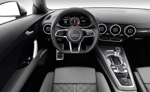 Novo Audi TT-S 2017 - interior