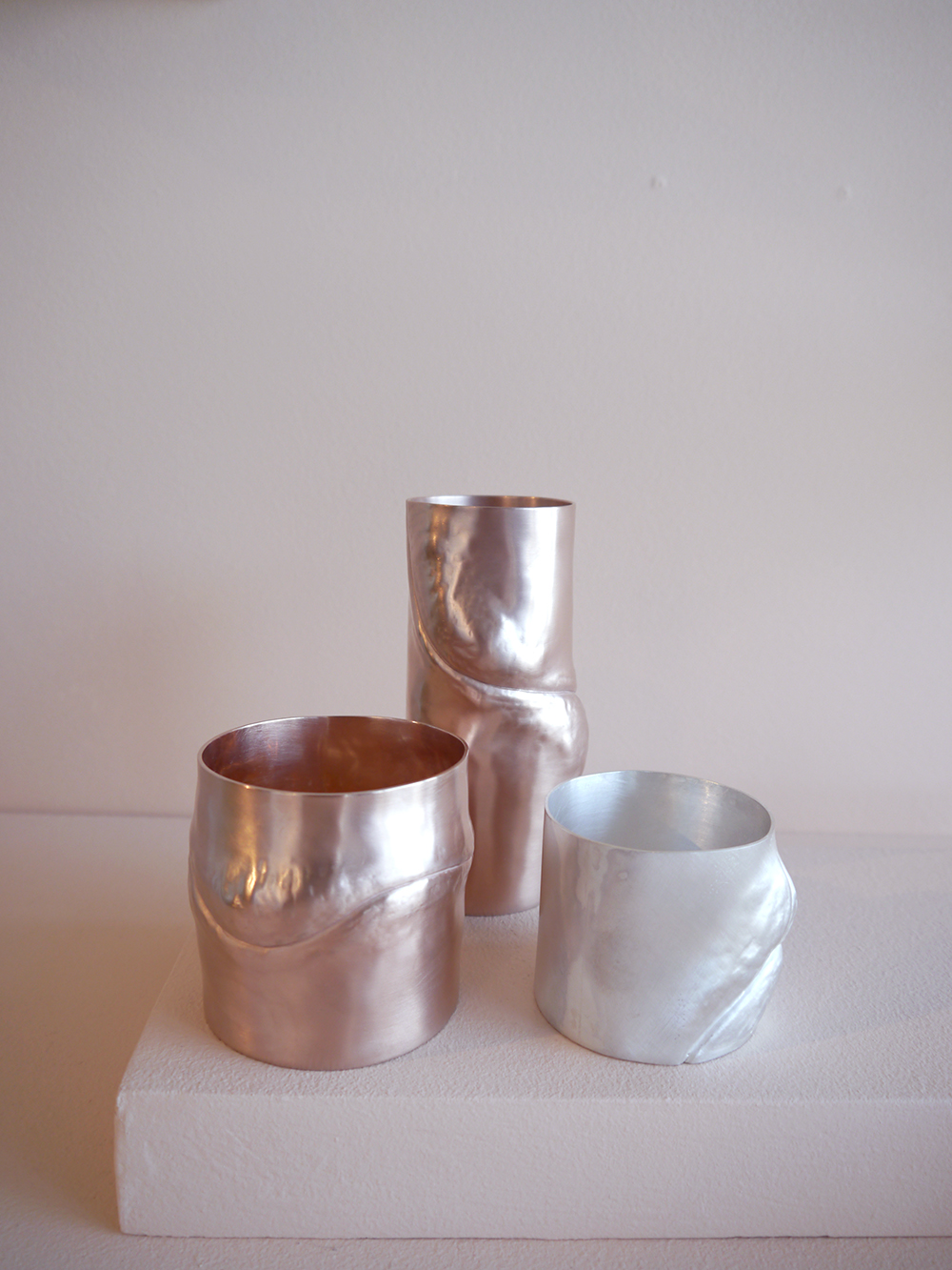 Silversmithing by Jan Warnock at Edinburgh College of Art Degree Show