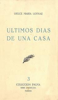 ÚLTIMOS DÍAS DE UNA CASA (Madrid, 1958)