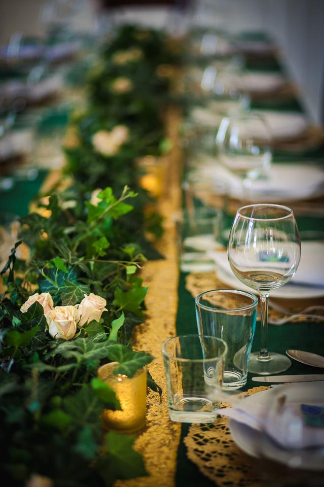 Dekoracje stołu na naszym przyjęciu weselnym