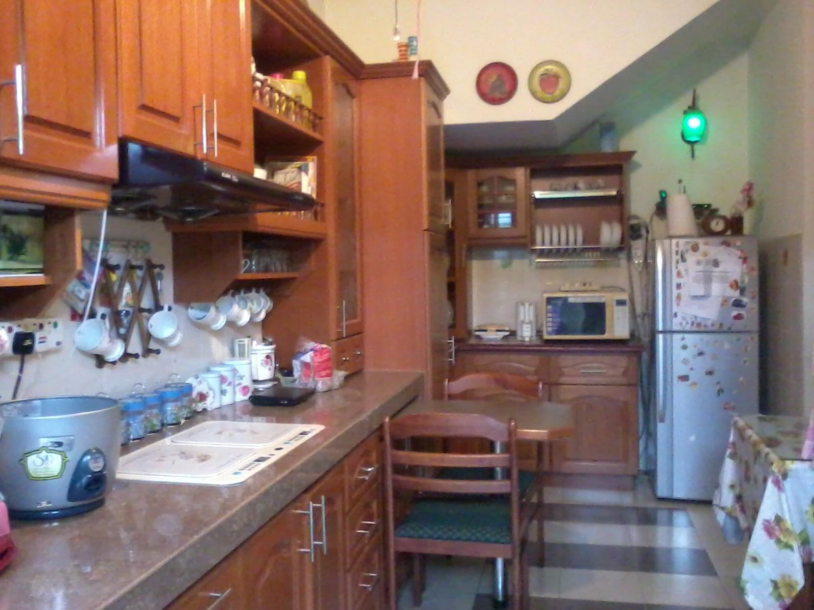 Susun Atur Dapur Kering Desainrumahid Bahagian Basah