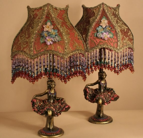 Ophelia S Adornments Blog May 2012: Ophelia's Adornments Blog: Exquisite Lamps