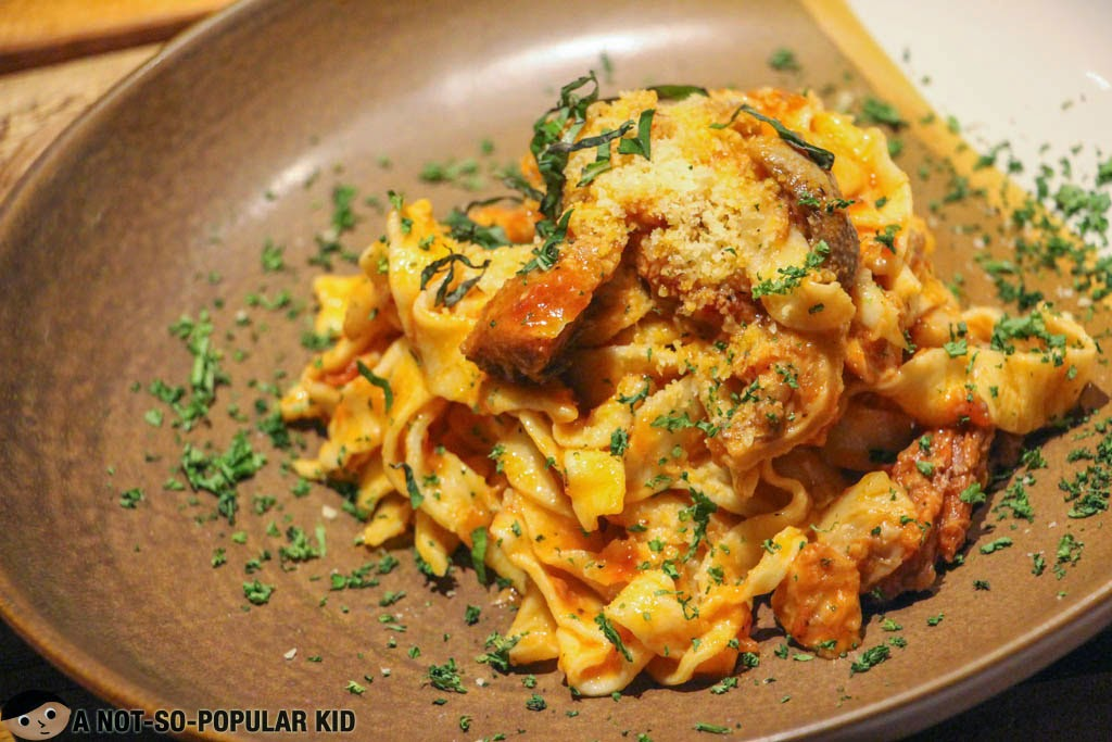 The affordable Nose to Tail Pasta in the Backyard, UP Town Center