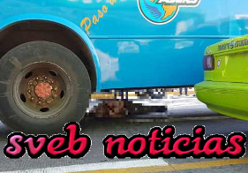 Camion de pasajeros atropella y mata a ciclista en puerto Veracruz