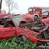 Wypadek na DK26. Auto wypadło z drogi [foto]