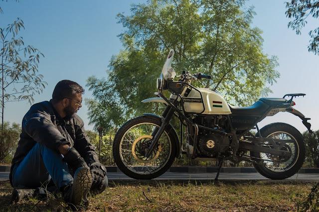 Gujurider, Royal Enfield Himalayan,Gujarat, Biker