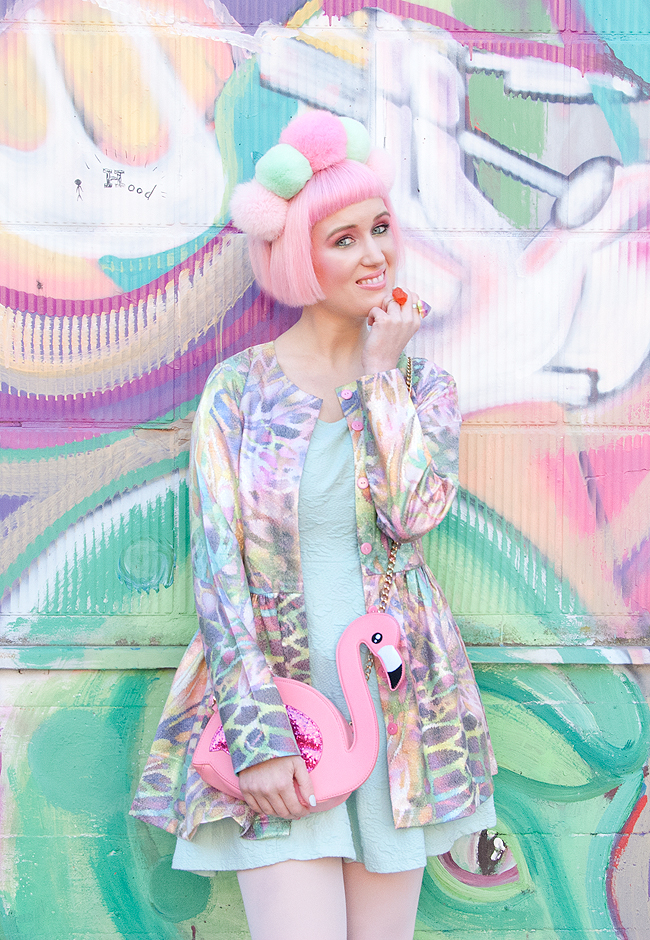 pastel look, street style, kawaii outfit