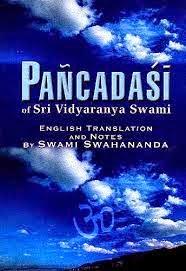 Sacred Said: Panchadasi by Vidyaranya Swami, Sanskrit text