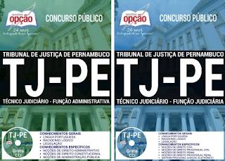 Apostila Tribunal de Justiça de Pernambuco - TJPE 2017