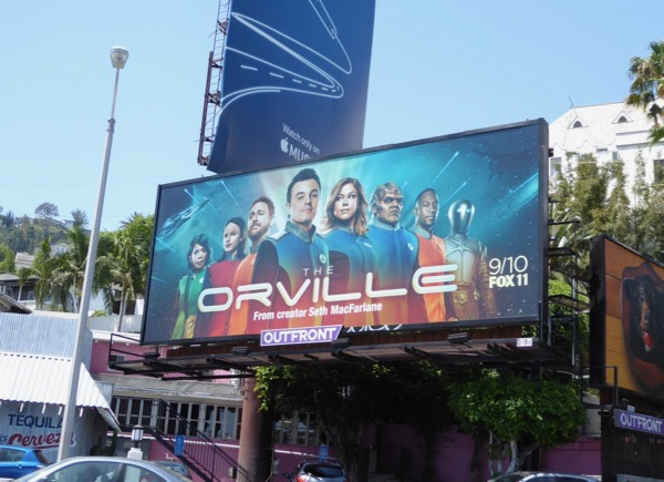 Orville series premiere billboard