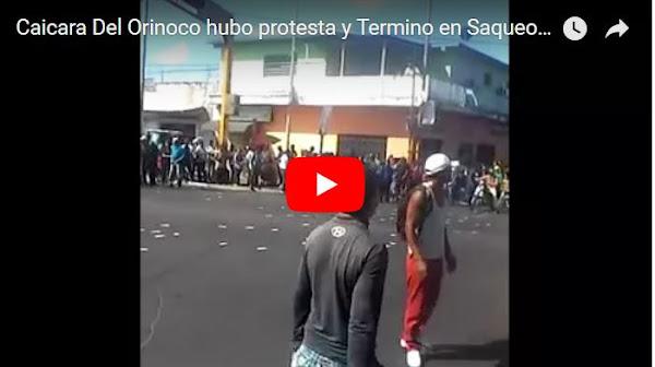 Se reportan dos muertos durante saqueos en Caicara del Orinoco