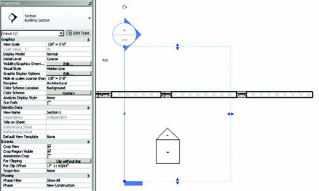 Revit Architecture Training Guide: Revit 2011 Creates Sections