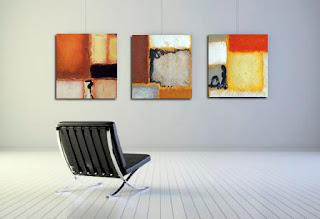 cuadros abstractos pintura acrílica