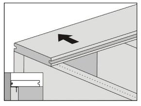 gambar pemasangan papan kayu komposit - 2