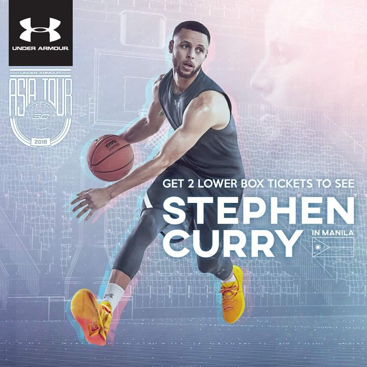 Stephen Curry is coming to Manila on September 7 2a7e2eb58