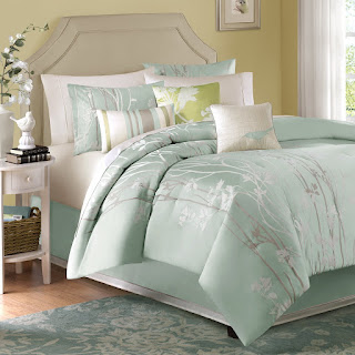 Alive Amp Breezy Cool Mint Colored Bedding And Comforter Sets