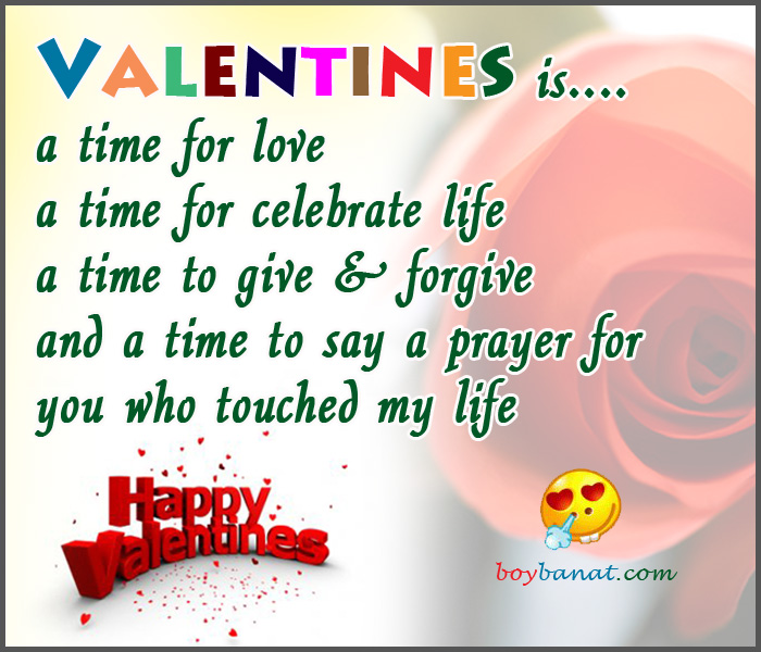 Valentines Day Quotes and Sayings ~ Boy Banat