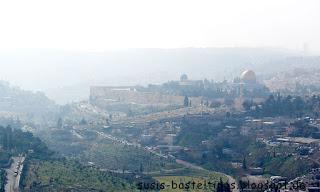 Blick auf Tempelberg und Ölberg Jerusalem Israel Foto von Stampin' Up! Demonstratorin in Coburg