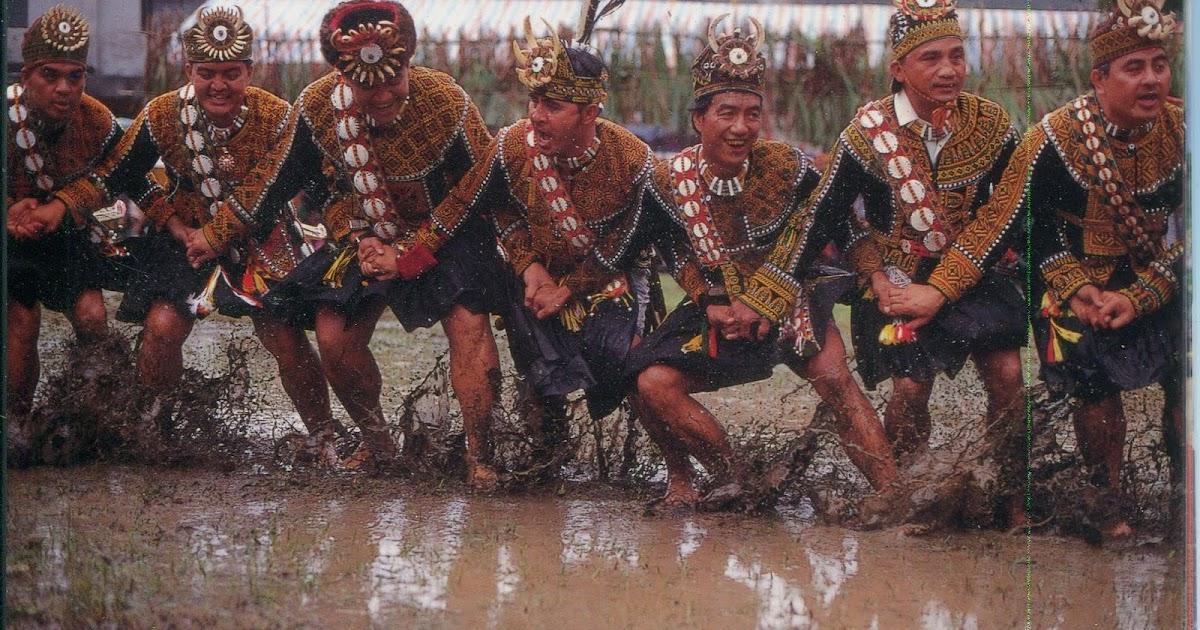 collect roc taiwan aborigines postcard brave dance of
