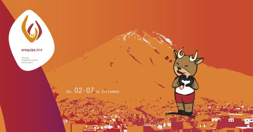Arequipa albergará los Juegos Sudamericanos Escolares (2 al 7 Diciembre)