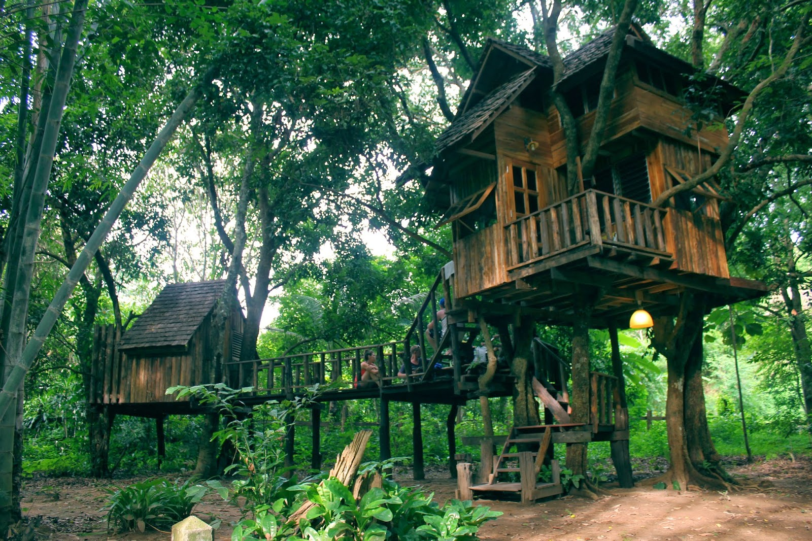 Market of Eden Rabeang Pasak Treehouse Resort