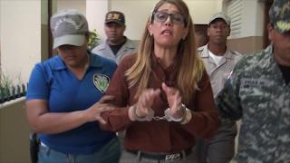 VIDEO: Ex pareja de alcalde de Cana Chapetón denuncia ante fiscalía amenazas y la detenida es ella.