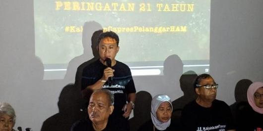 Aktivis-Keluarga Korban Penculikan '98 Bertekad Kalahkan Capres Pelanggar HAM