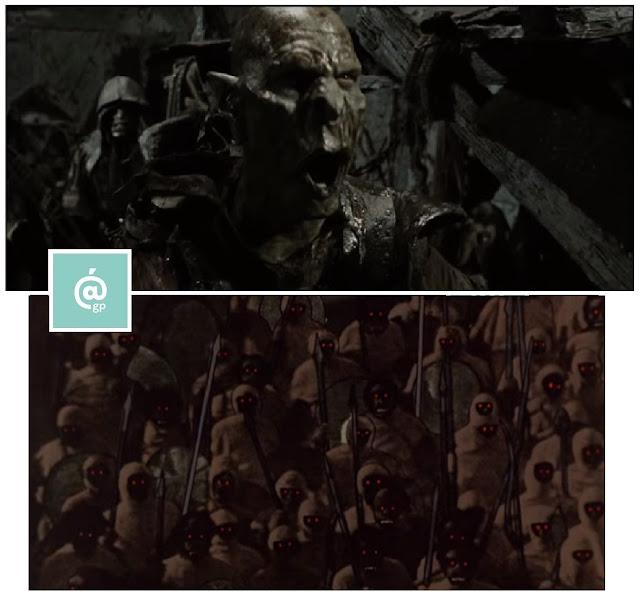 Orcos de Mordor - El Señor de los Anillos: Peter Jackson Vs Ralph Bakshi - JRRTolkien - ÁlvaroGP - el fancine - el troblogdita