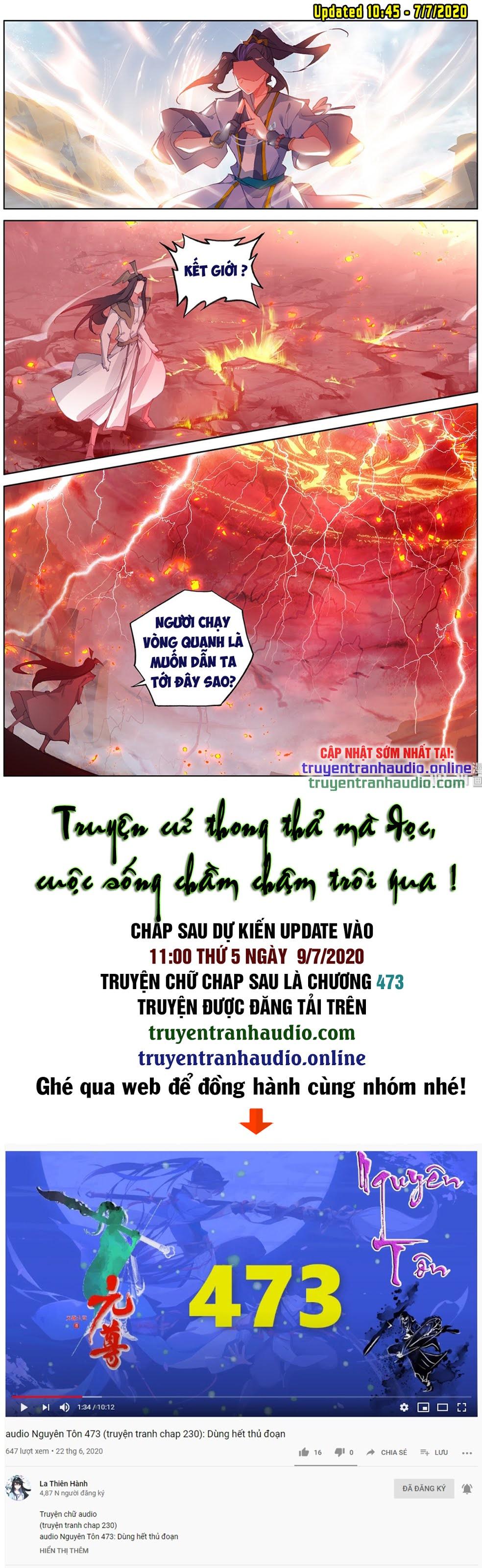 Nguyên Tôn chap 230 - Trang 9