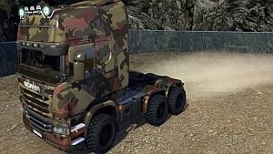 Off-road Army Scania Streamline