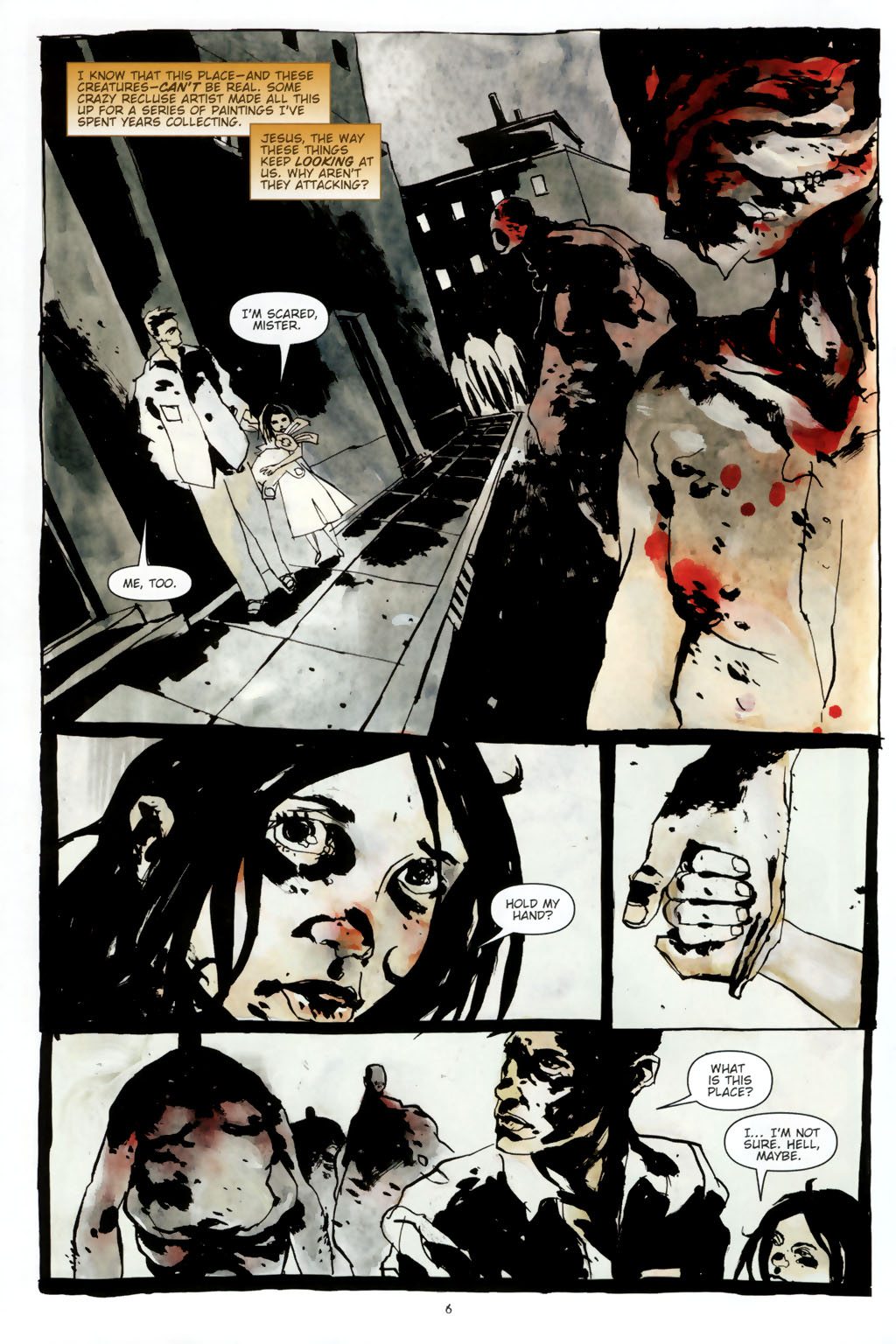 Read online Silent Hill: Dead/Alive comic -  Issue #2 - 8