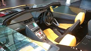 Lamborghini Aventador Suntec City
