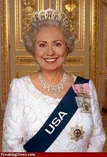 Afbeeldingsresultaat voor hillary clinton wins us presidency queen