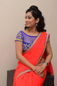 tejaswini sizzling photos in saree-thumbnail-18